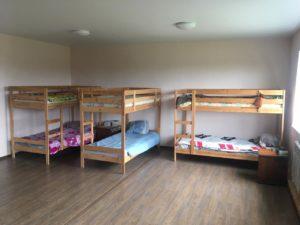 спальня в центре реабилитации нарко и алкозависимых